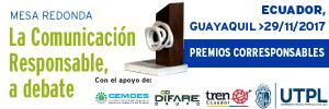 Mesa Redonda Comunicación Responsable Guayaquil